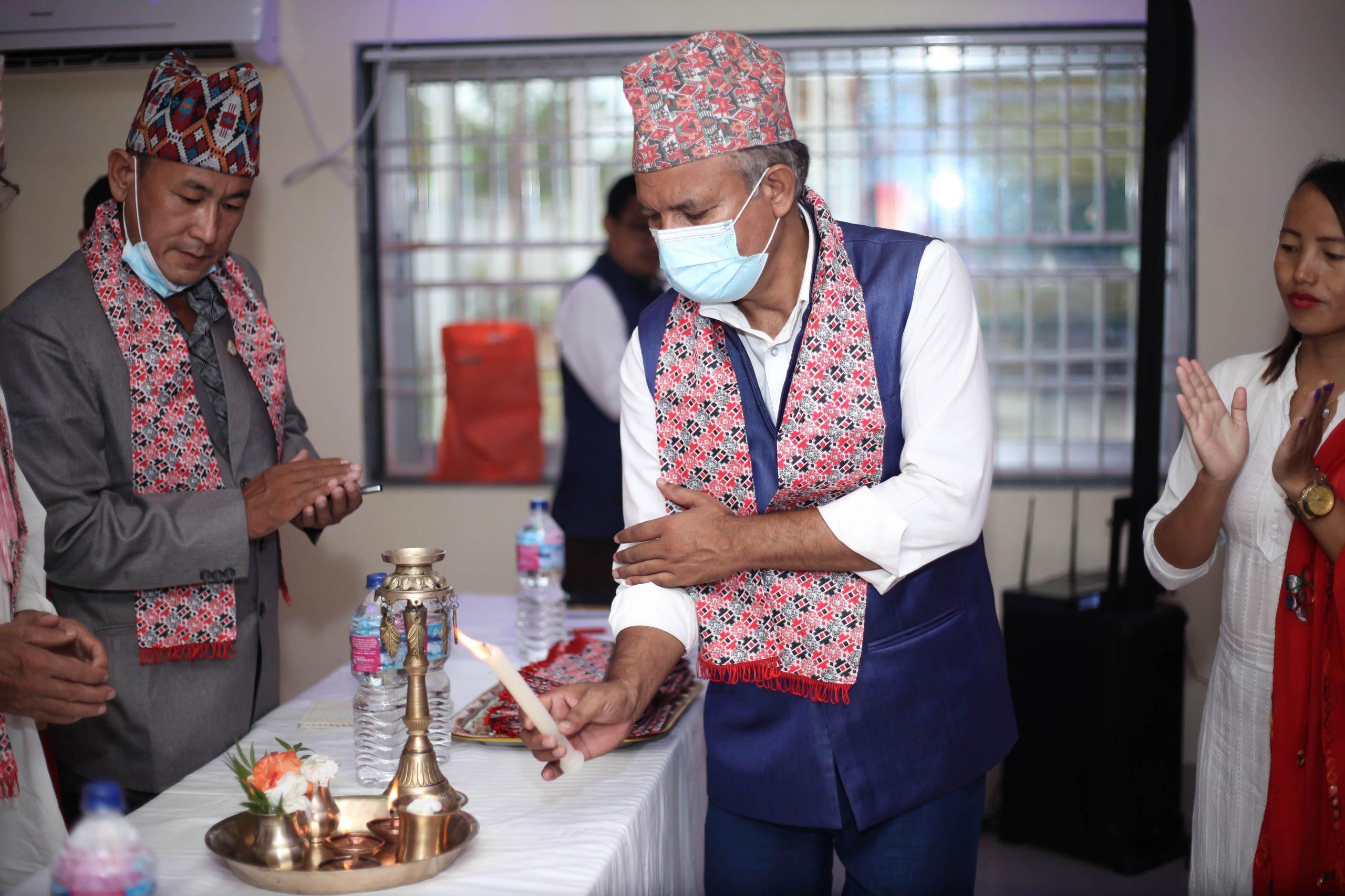 फाल्गुनन्द साकोसको सपथ ग्रहण र बधाई शुभकामना कार्यक्रम